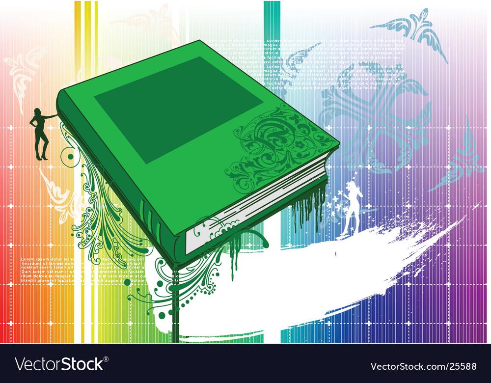 Design book vector