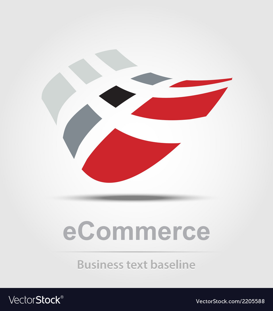 Ecommerce busines icon vector | Price: 1 Credit (USD $1)