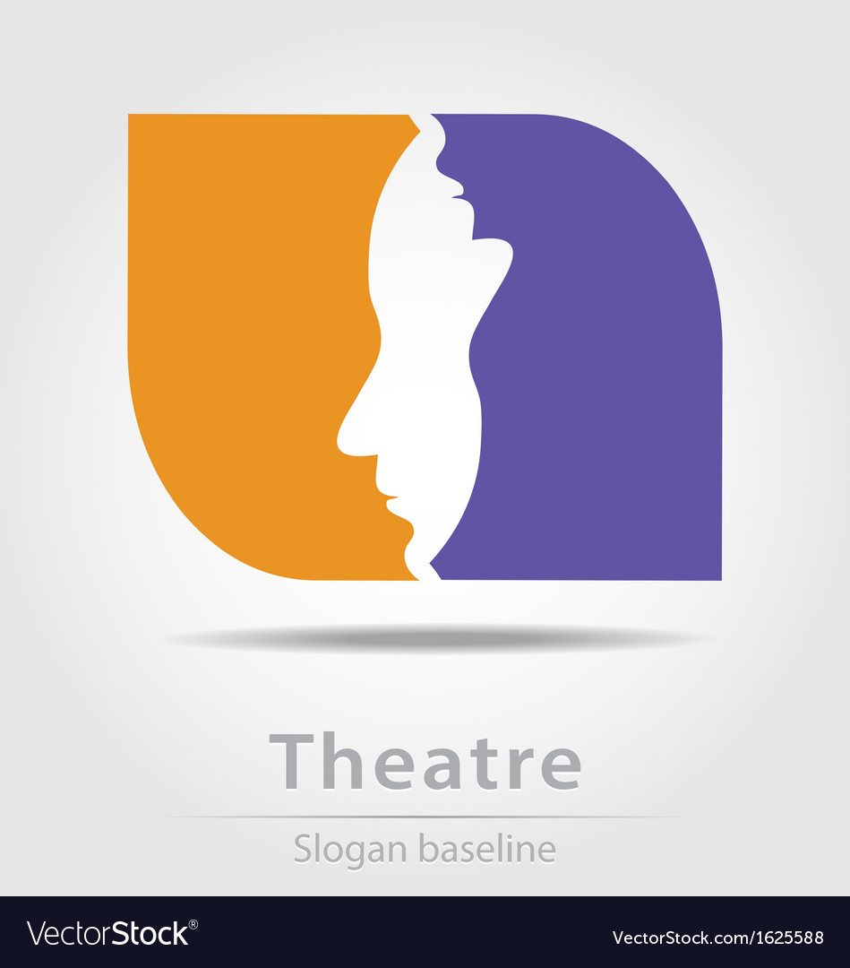 Original theatre business icon vector | Price: 1 Credit (USD $1)