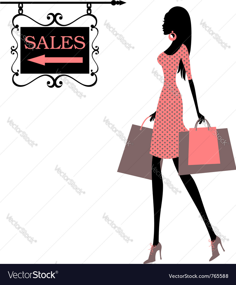 Sales time vector | Price: 1 Credit (USD $1)