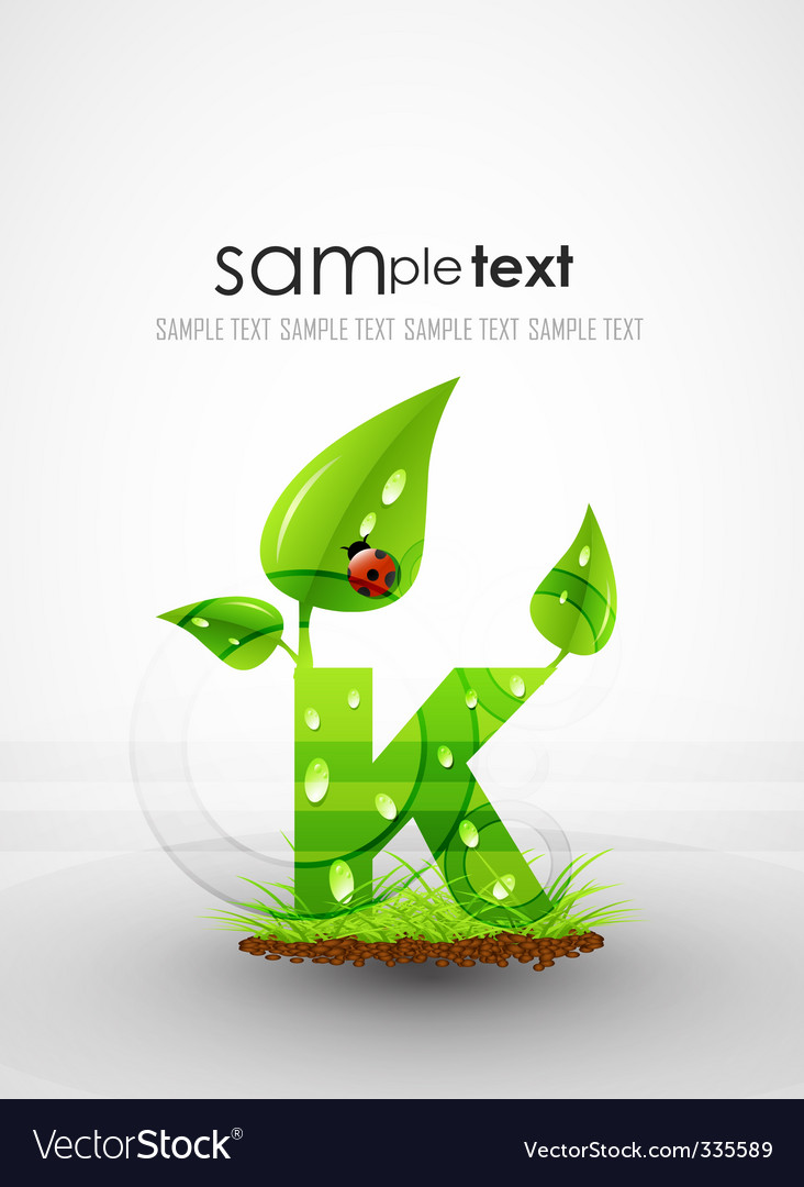Natural themed typography vector   Price: 1 Credit (USD $1)