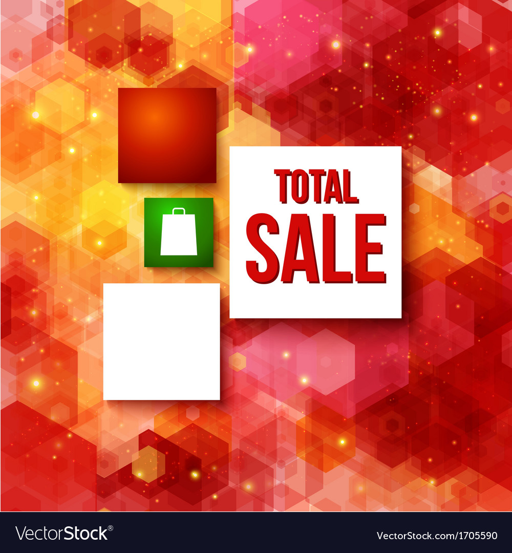 Christmas sale layout with place for your vector | Price: 1 Credit (USD $1)