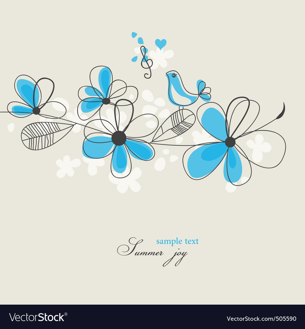 Summer joy vector | Price: 1 Credit (USD $1)