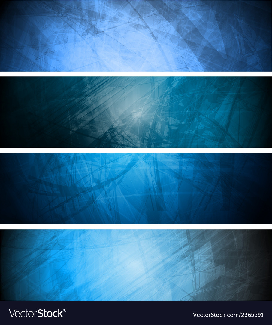 Blue textural backgrounds set vector | Price: 1 Credit (USD $1)