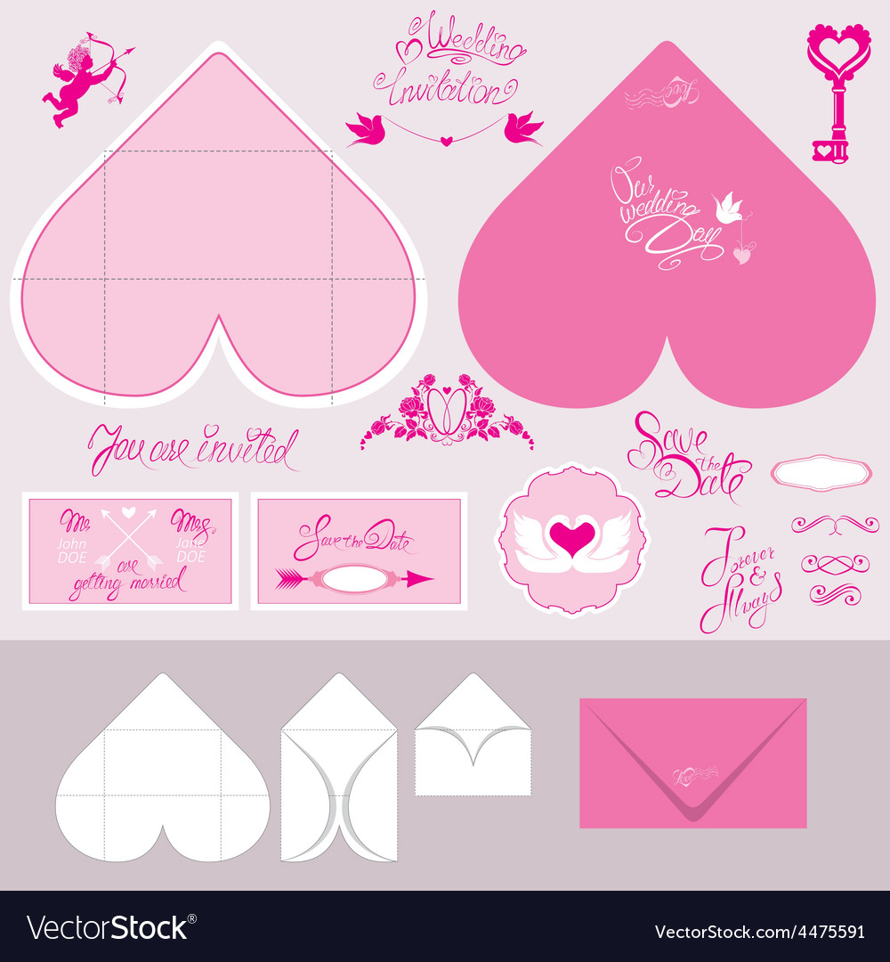 Envelope heart 380 vector | Price: 1 Credit (USD $1)