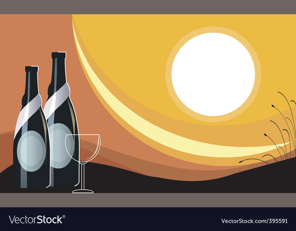 Goblet of wine vector | Price: 1 Credit (USD $1)