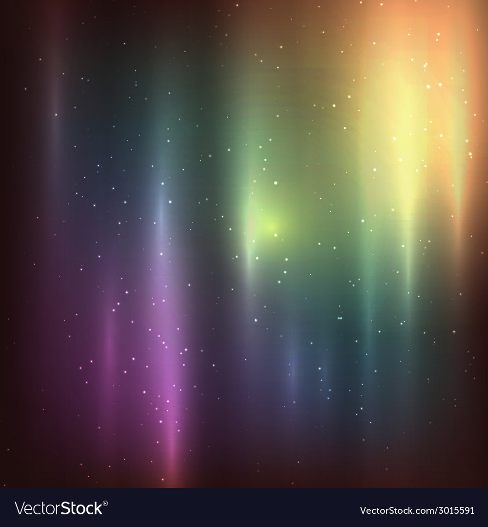 Starry background of stars and nebulas in deep vector | Price: 1 Credit (USD $1)