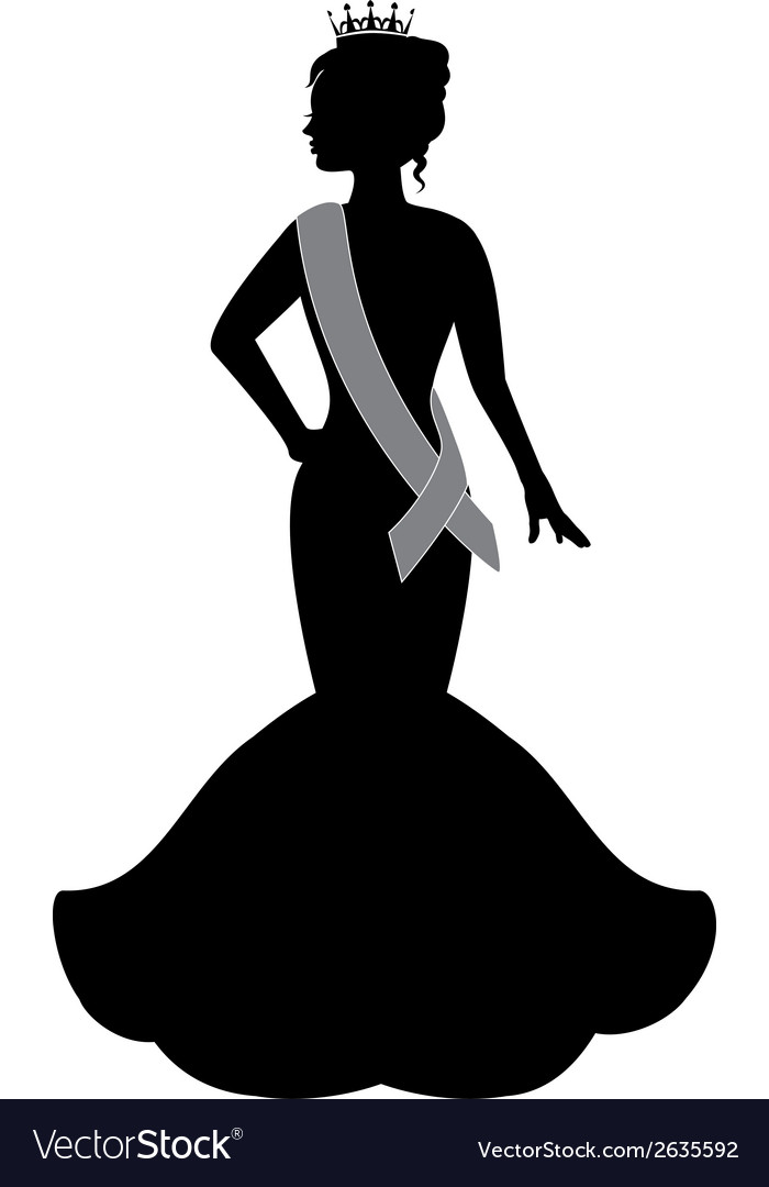 Queen of beauty vector | Price: 1 Credit (USD $1)