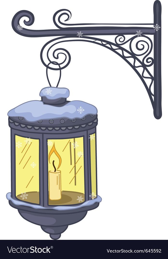 Vintage lantern vector   Price: 1 Credit (USD $1)