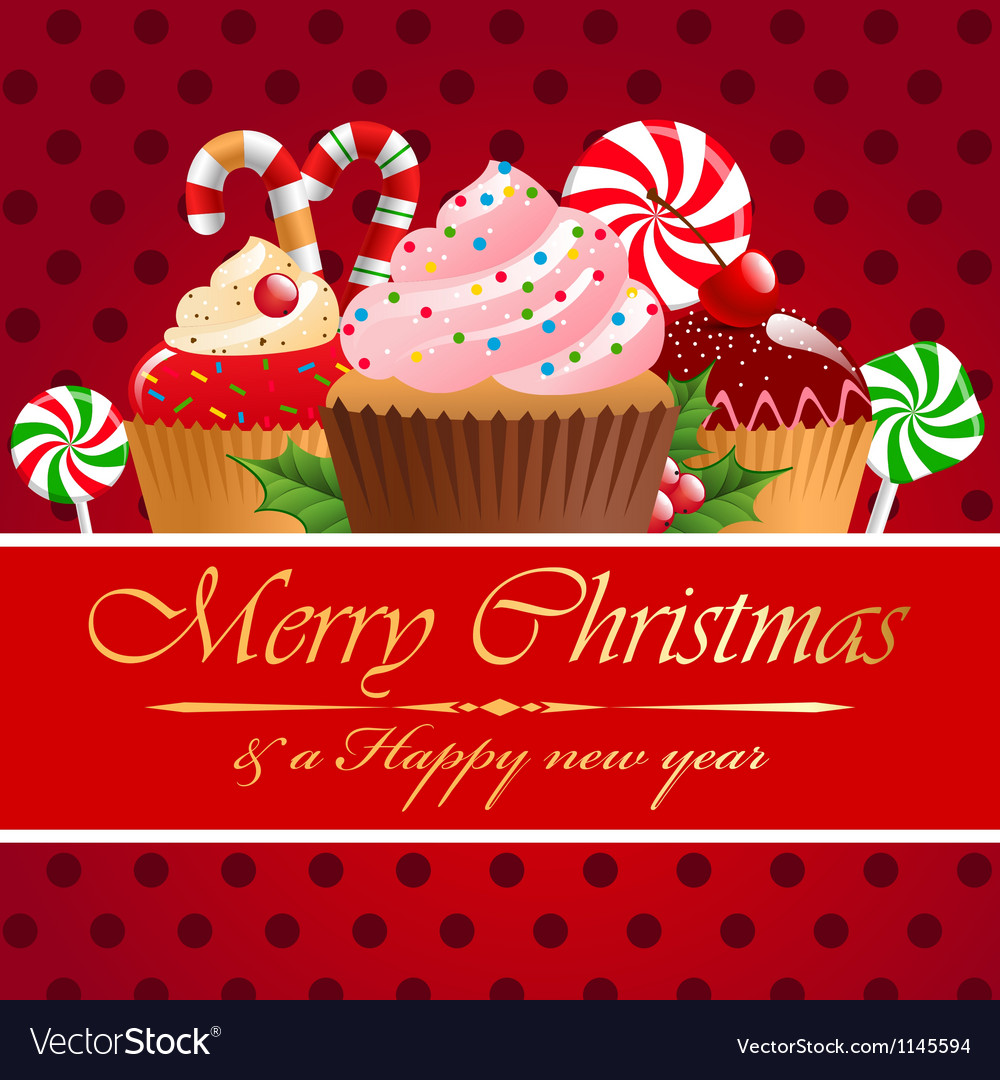 Christmas pastry and sweets vector | Price: 1 Credit (USD $1)