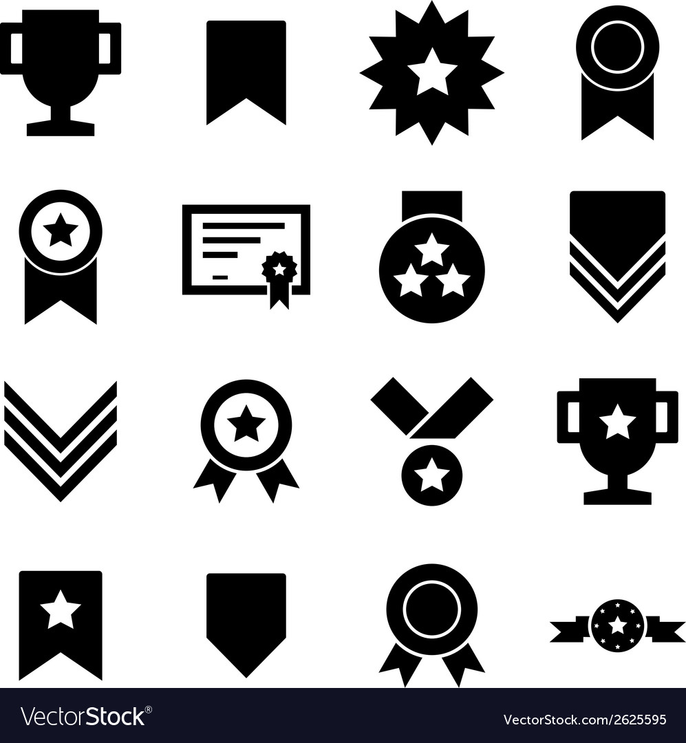 Award icon vector | Price: 1 Credit (USD $1)