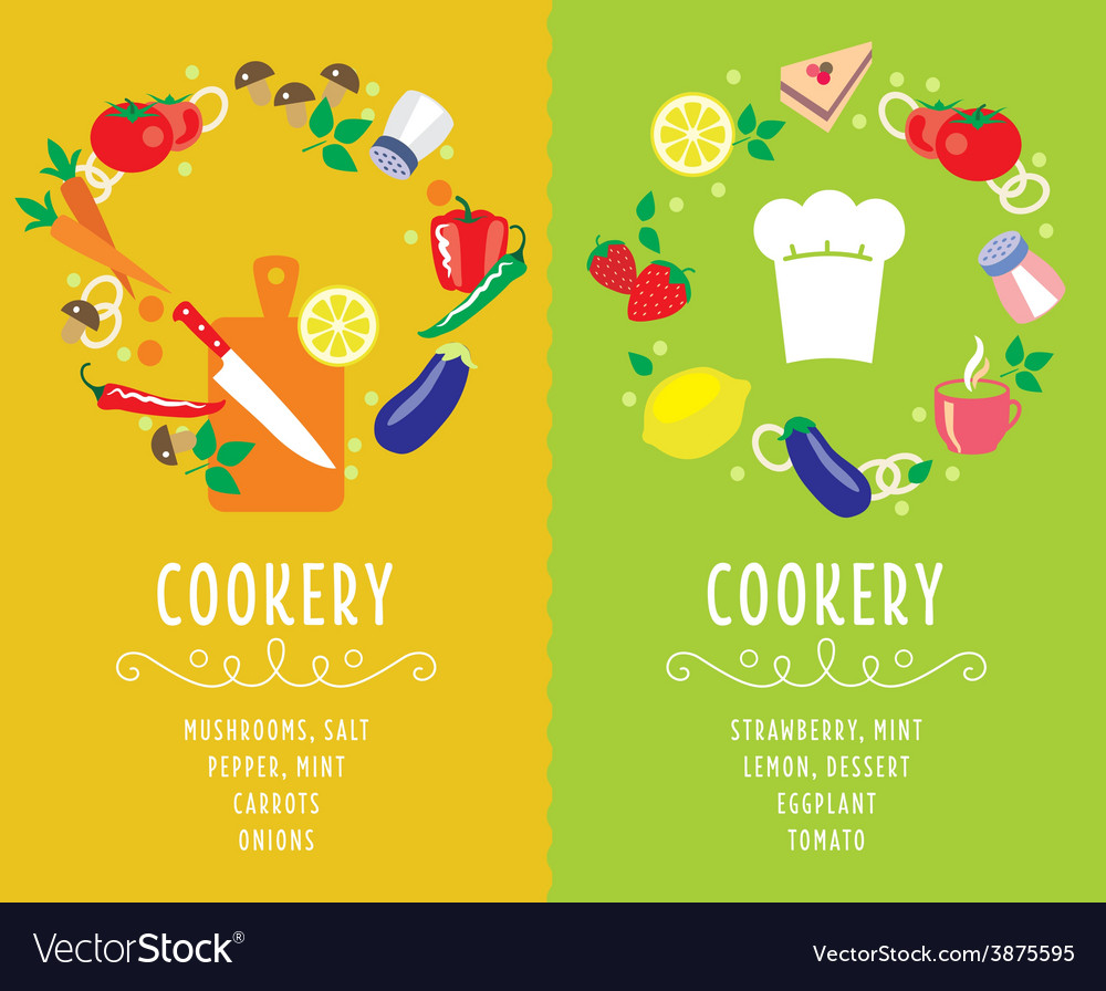 Cooking collection compositsion vector | Price: 1 Credit (USD $1)