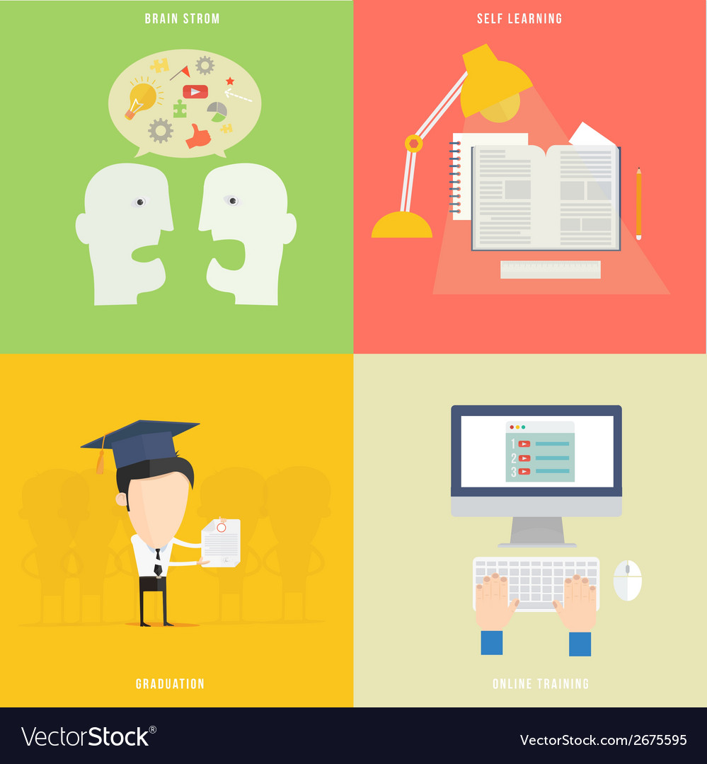 Element of education tutorial traning concept icon vector | Price: 1 Credit (USD $1)