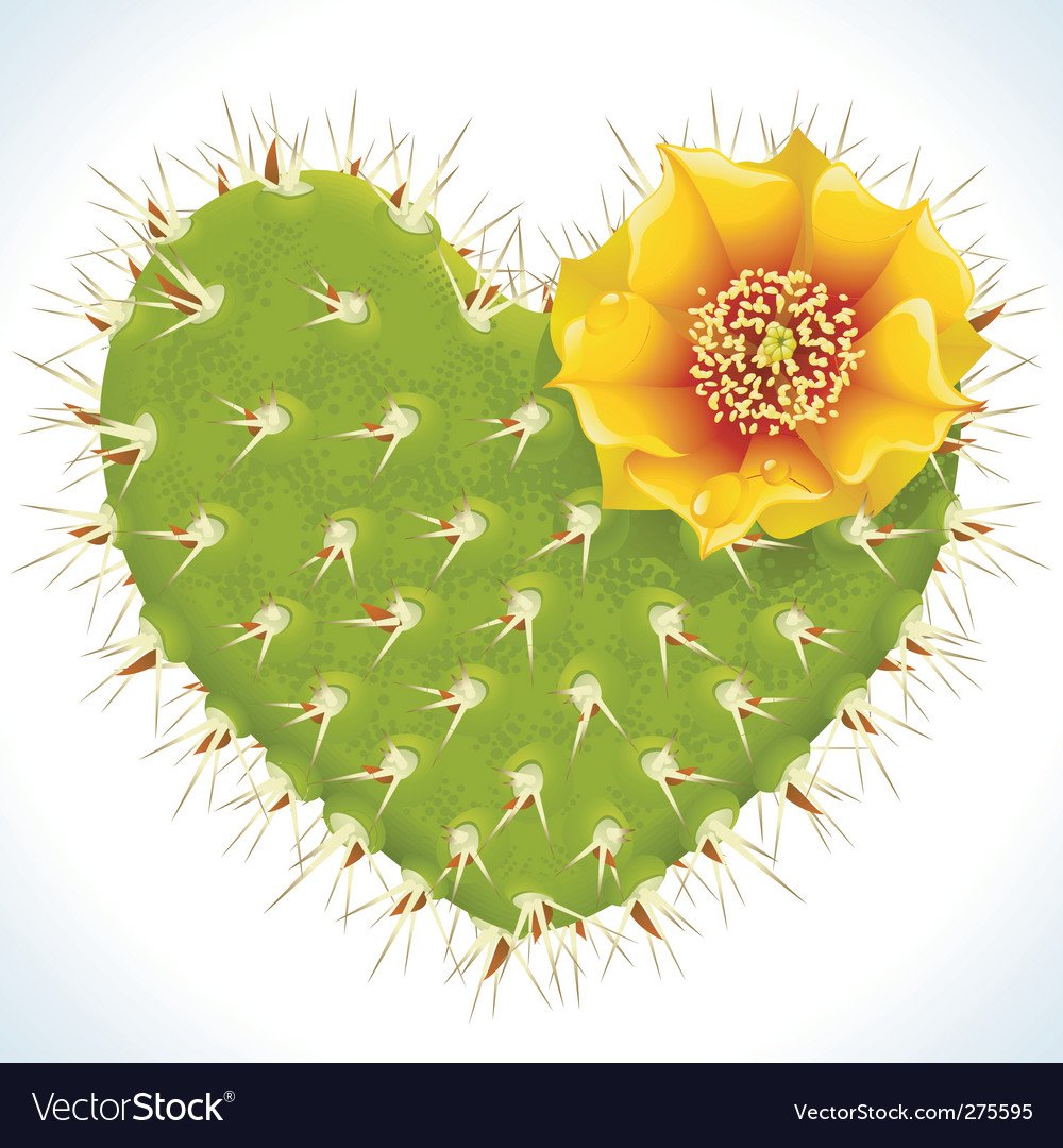Thorny heart vector | Price: 1 Credit (USD $1)
