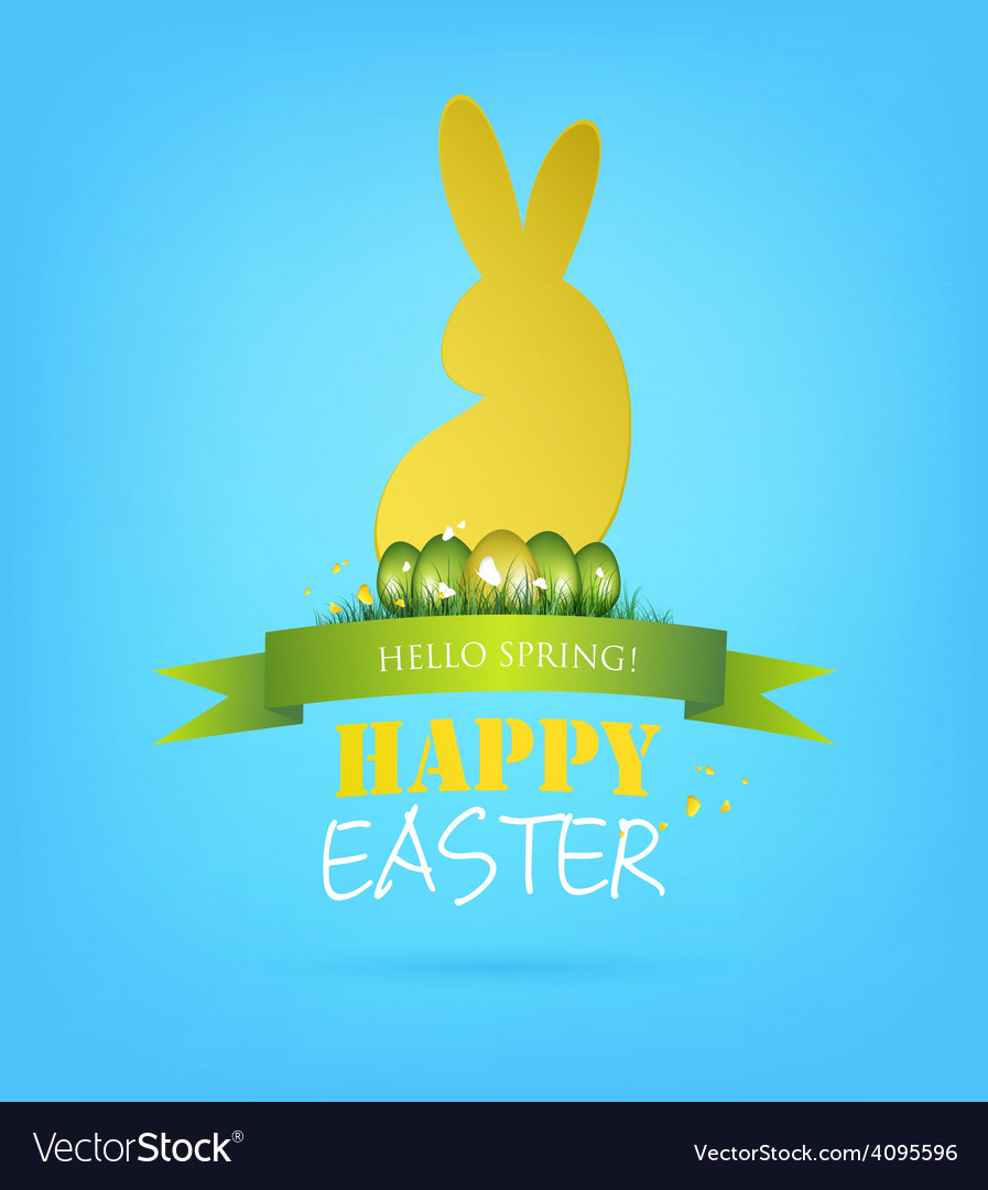 Easter background vector   Price: 3 Credit (USD $3)