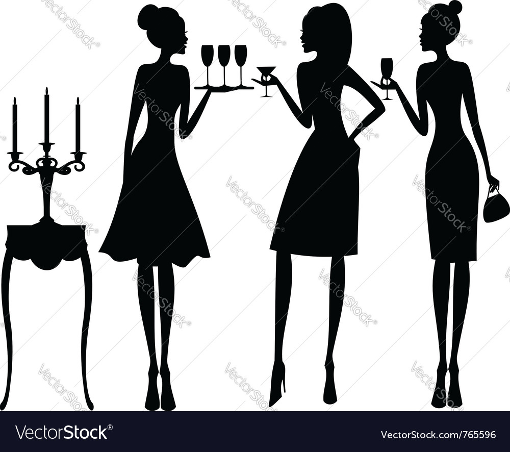 Elegant cocktail party vector | Price: 1 Credit (USD $1)