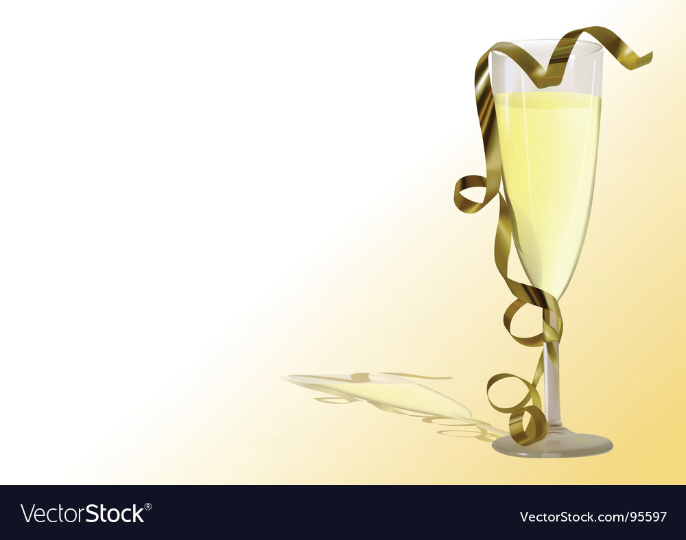 Champagne toast vector | Price: 1 Credit (USD $1)