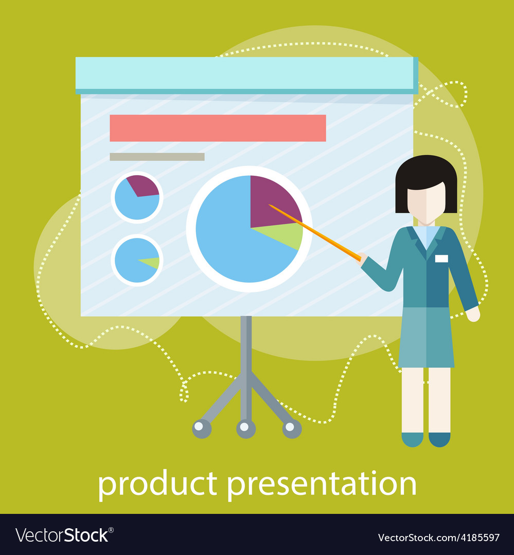 Concept for business conference and presentation vector | Price: 1 Credit (USD $1)