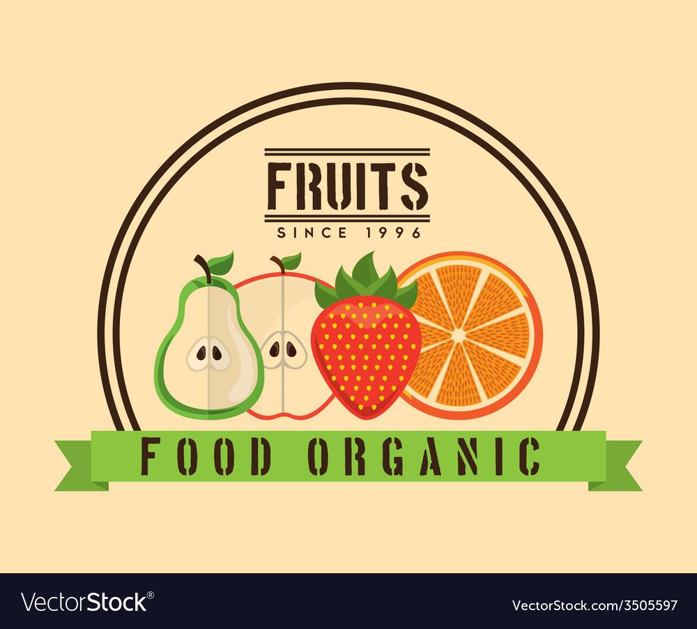 Fruit design vector | Price: 1 Credit (USD $1)