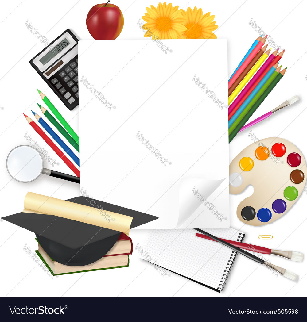 Background back to school vector | Price: 3 Credit (USD $3)