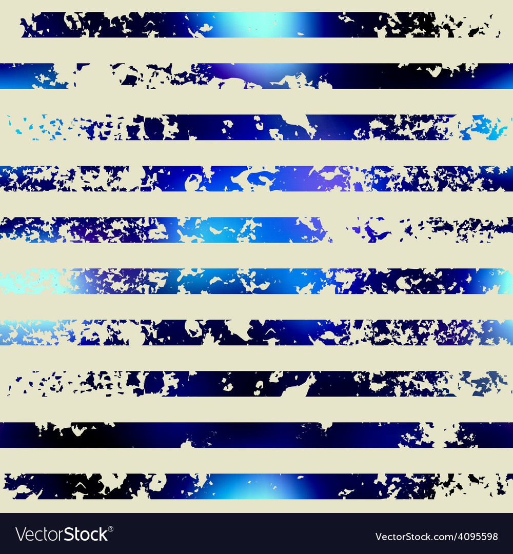 Grunge horizontal stripes in nautical style vector | Price: 1 Credit (USD $1)