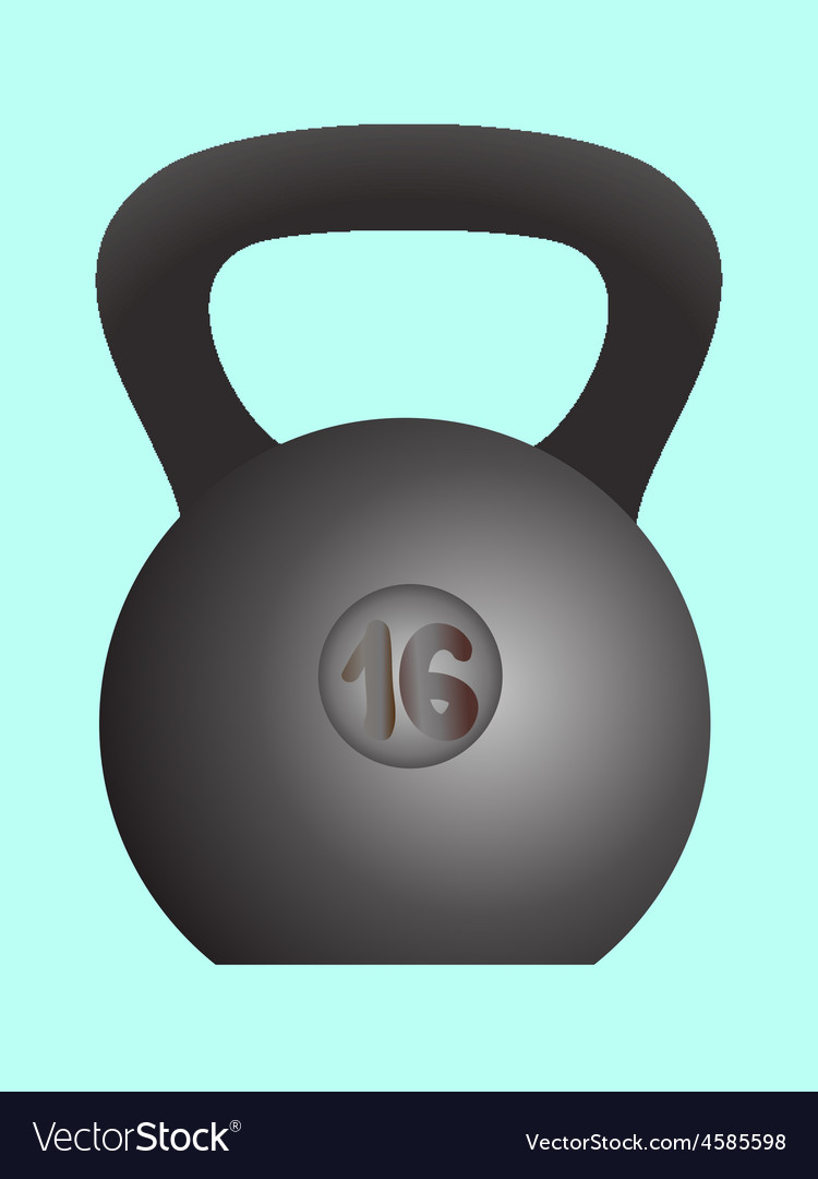 Weight sports equipment vector | Price: 1 Credit (USD $1)