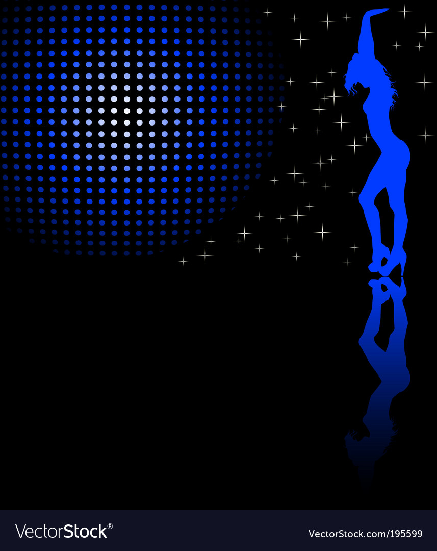 Disco background vector | Price: 1 Credit (USD $1)