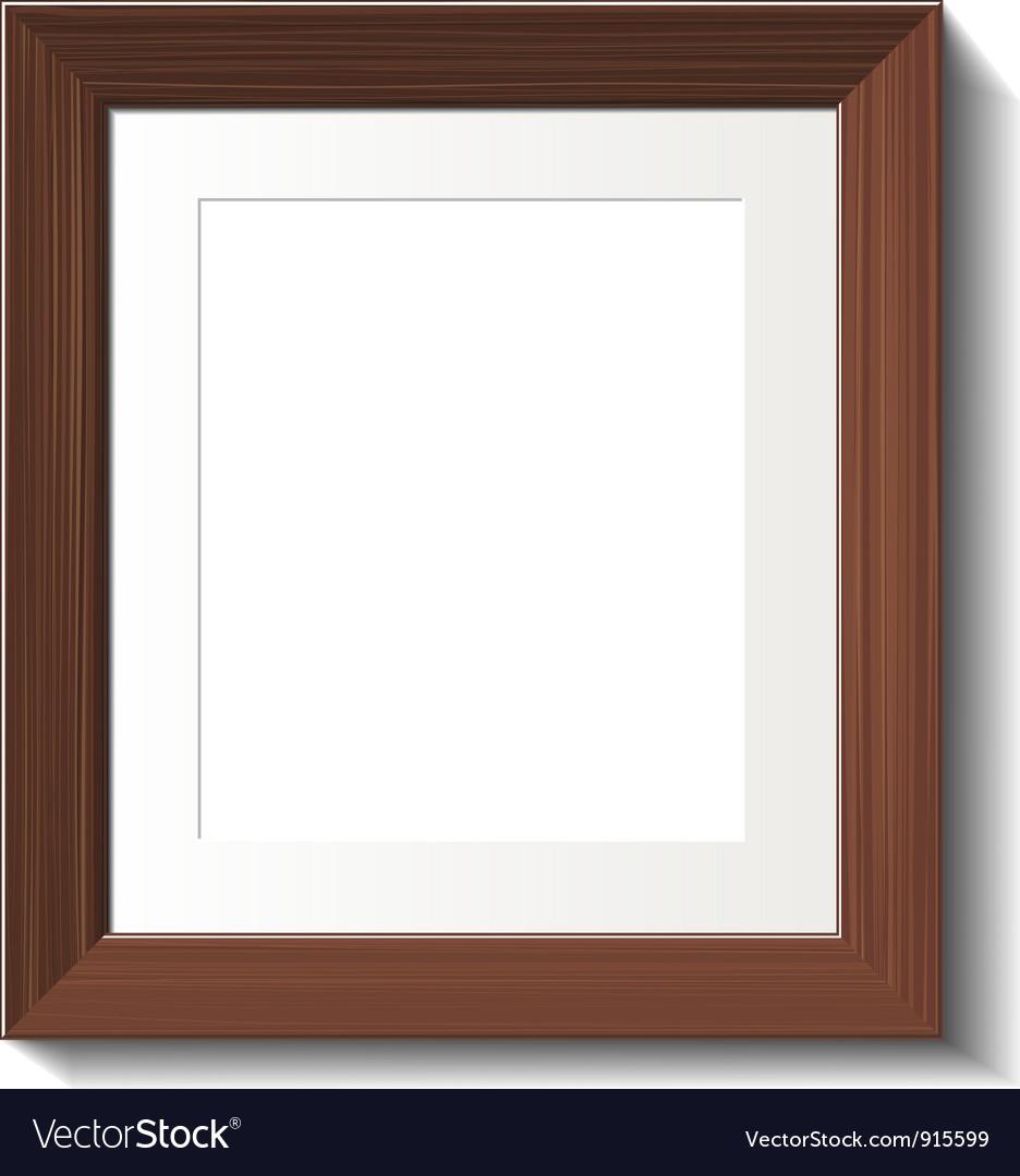 Hardwood frame vector | Price: 1 Credit (USD $1)