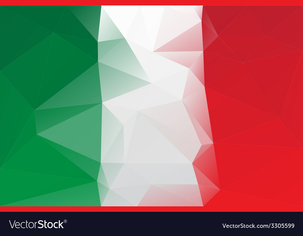 Italian flag vector   Price: 1 Credit (USD $1)