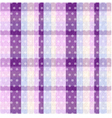 Seamless plaid and polka dots background texture vector