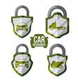 Car insurance design vector