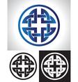 Quaternary celtic knot vector