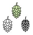 Hop beer sign symbol label vector