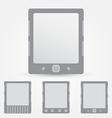 E-book reader icon vector