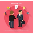 Businessmen on business meeting vector