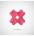 Beautiful color origami creative icon design eps vector