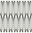 Monochrome abstract pattern vector