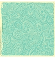 Vintage paisley background vector