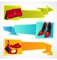 Fashion banners set vector