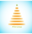 Christmas tree icon on a simple background vector