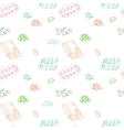 Seamless pattern for background medical vector