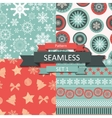 Abstract beauty christmas and new year seamlss vector