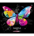 Butterfly splashes vector