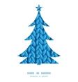 Knit sewater fabric horizontal texture christmas vector