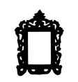 Old photo frame vector