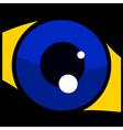 Glossy eye vector