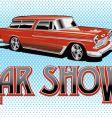 Car show vector