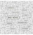 Bad news vector