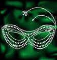 Jewelery mask vector