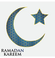 Ramadan background design vector